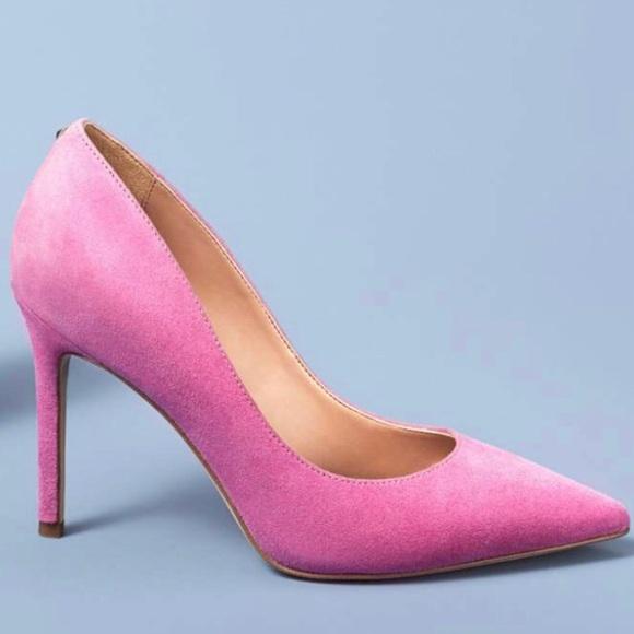 9ef1fe1e6c7a Sam Edelman HAZEL pump👠 in hot pink suede💞